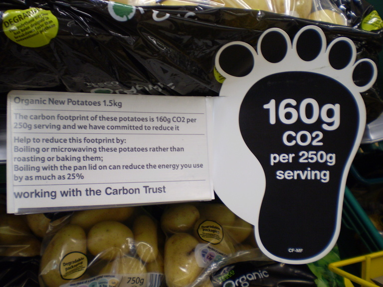 Carbon footprint of online shopping
