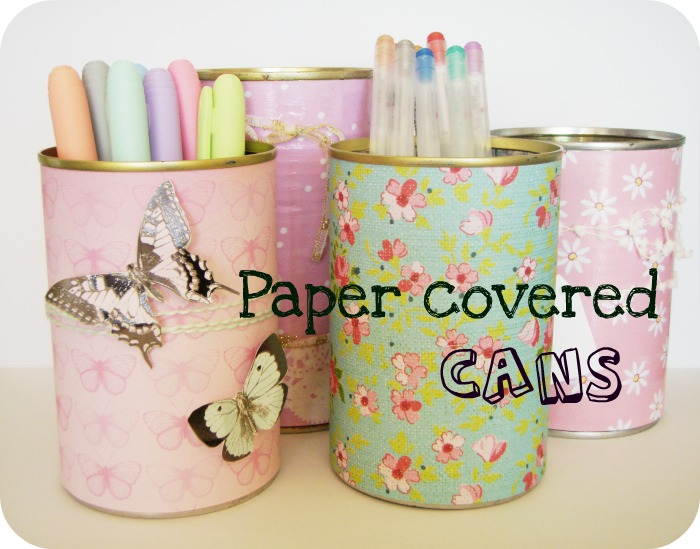 lovemandy: Decorated Cans