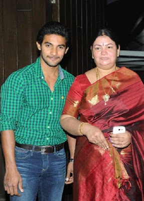 Surekha with son Aditya Pudipeddi
