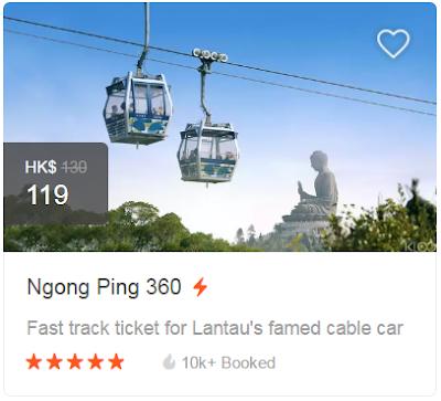 Ngong Ping 360 Ticket & Klook Promo Code