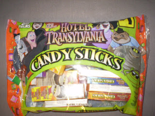 Front of Hotel Transylvania Candy Sticks bag