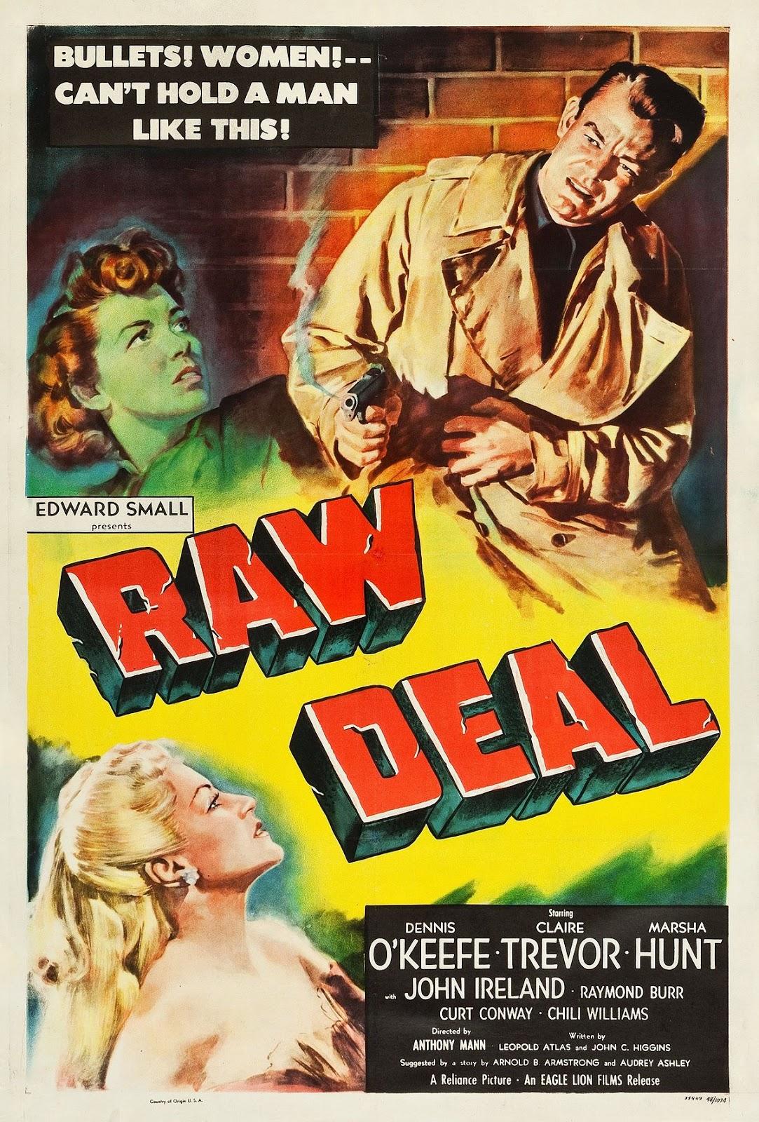 Film Noir Board Raw Deal 1948-1930