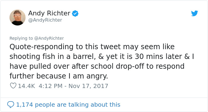 Comedian Andy Richter Gave A Powerful Response To Someone Who Said 'Depression Is A Choice'