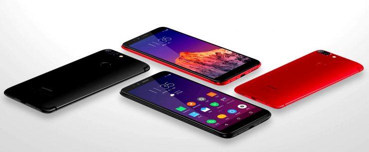 ألوان موبايل Lenovo-S5