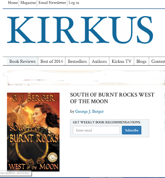 kirkus review For those of you that don't know, kirkus reviews was a book review magazine known for having very harsh reviewers, rarely giving a positive review to anything in 2004, they launched a service whereby someone could pay for an honest review.