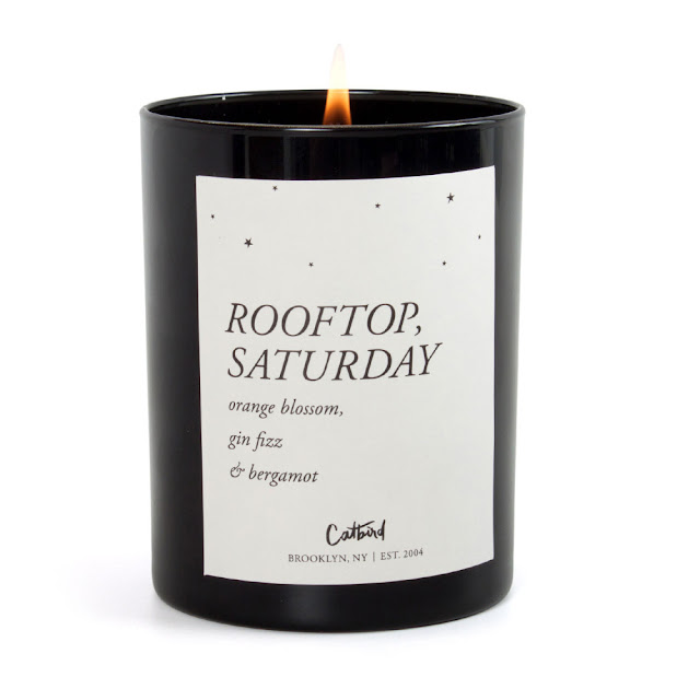 BRB, Gone to Colorado! from Honey and Smoke Studio - Rooftop, Saturday Candle from Catbird NYC
