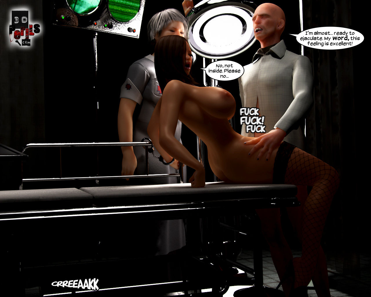 Abduction Xxx Comic