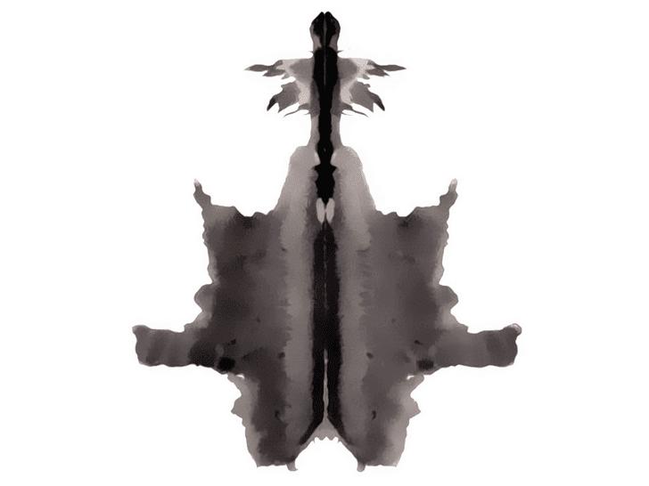 Lámina de Rorschach 6
