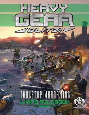 Heavy Gear Blitz! Tabletop Wargaming - Living Rulebook
