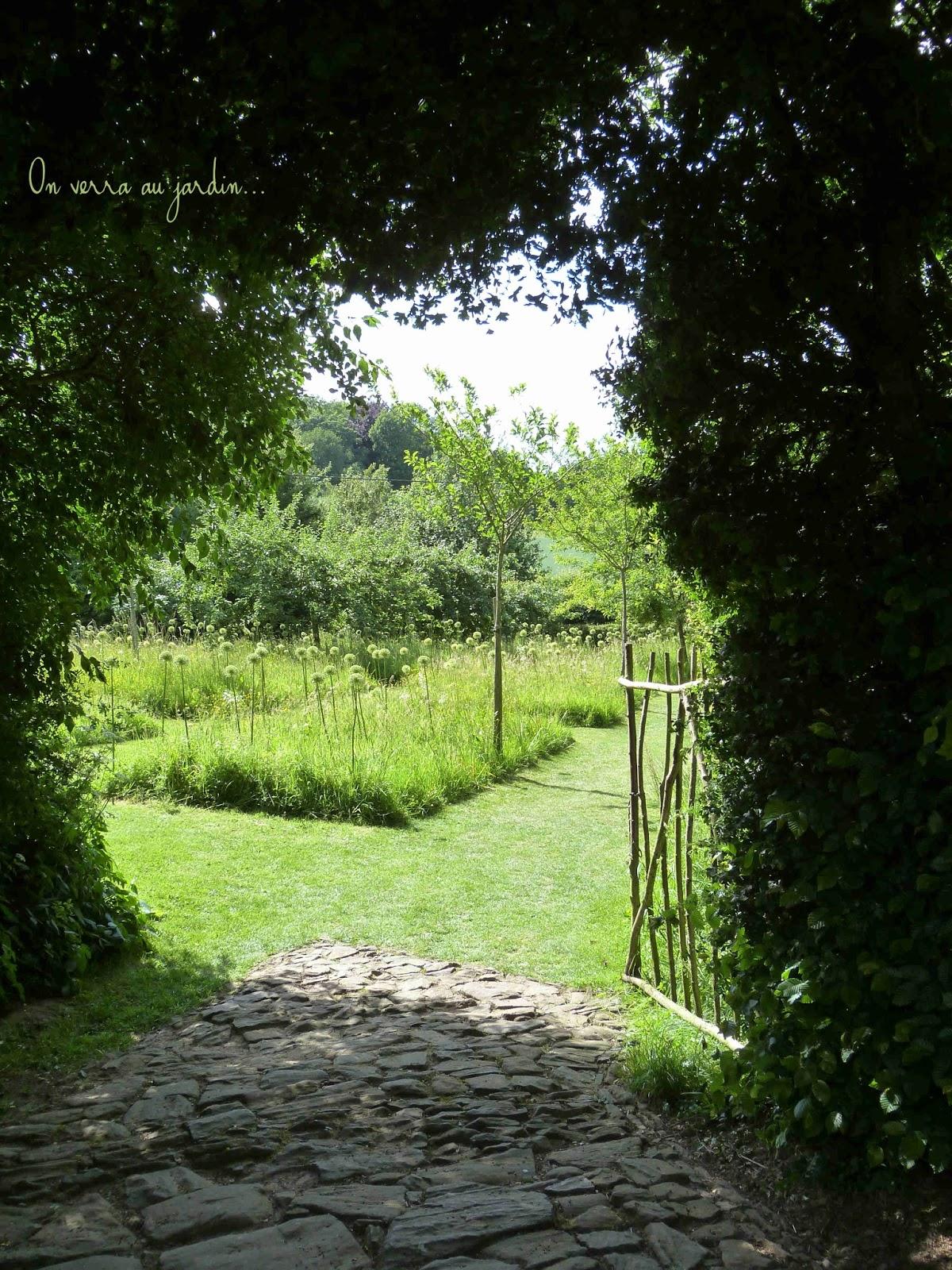 On verra au jardin le jardin de la ferme du mont des for Camping au jardin de la ferme