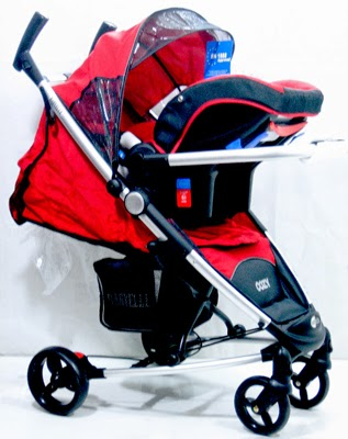 Stroller Baby Elle Cozy Travel System + CarSeat S602TS (Rp ...