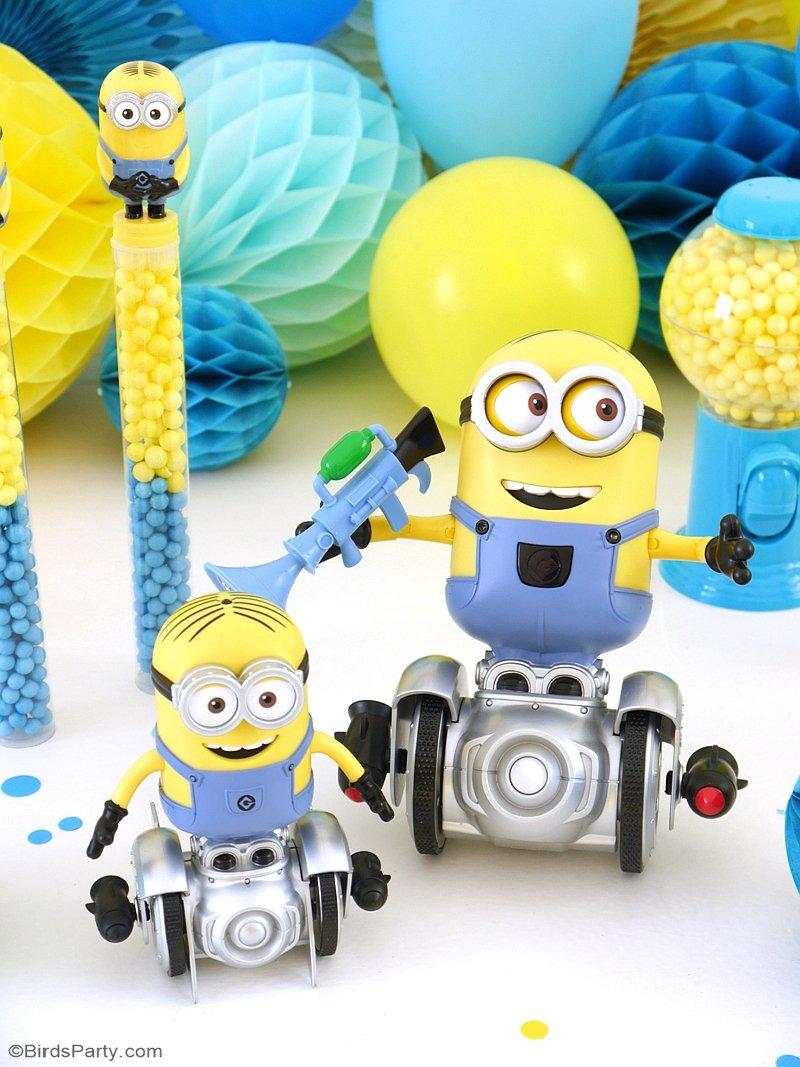 Minion Inspired Birthday Party Ideas & FREE Printables ...