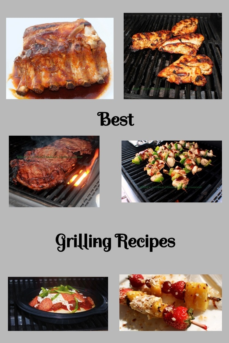 These the best backyard barbecue recipe collection for all your grilling needs from steak to dessert and side dishes. Grilled meats, grilled fruits, grilled pizza all great grilling recipe ideas.