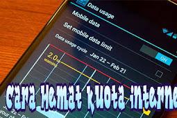 Cara Hemat kuota internet di hp android, dan mengatasi keborosan kuota internet agar tidak cepat habis