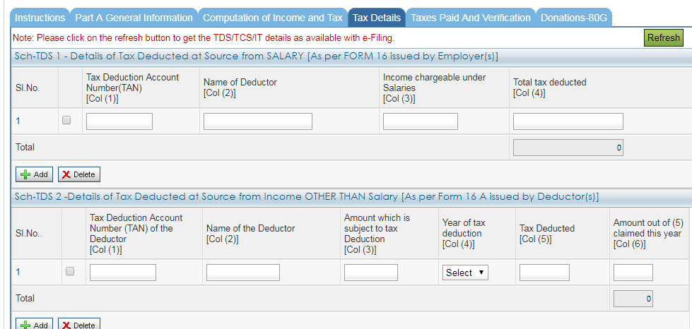 How to file income tax return online for salaried person