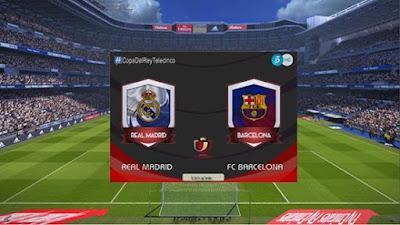 PES 2017 Copa Del Rey Scoreboard by G-Style Season 2016/2017