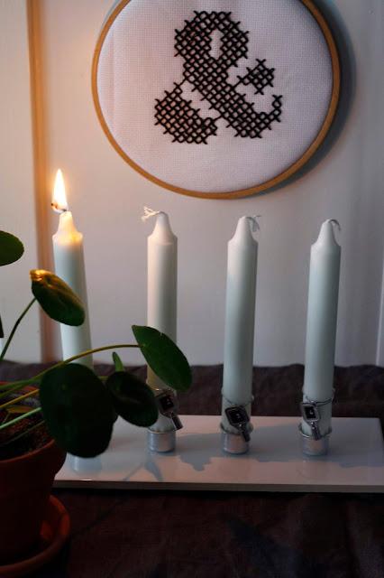 kynttilänjalka diy