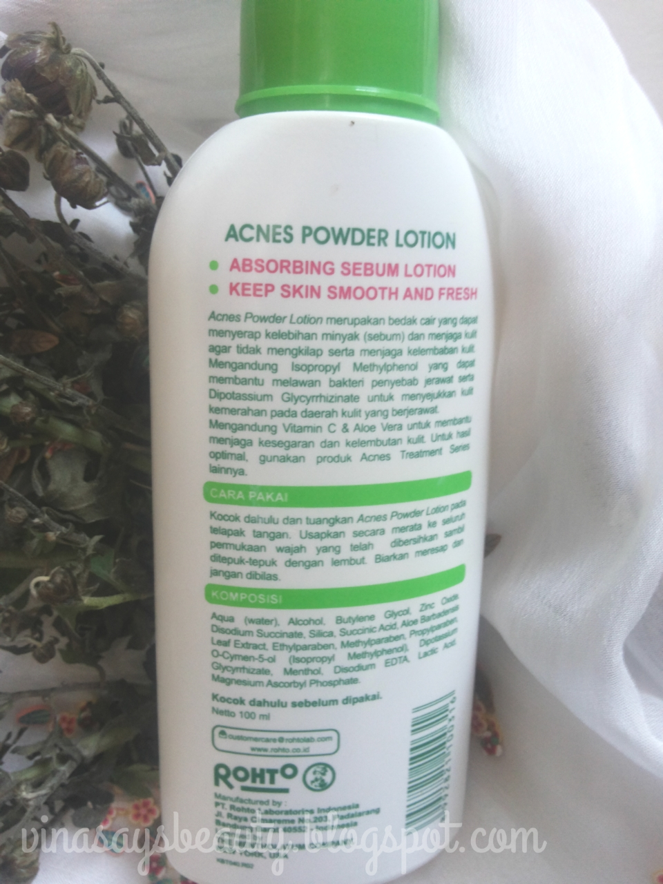 Review Acnes Powder Lotion Vina Says Beauty