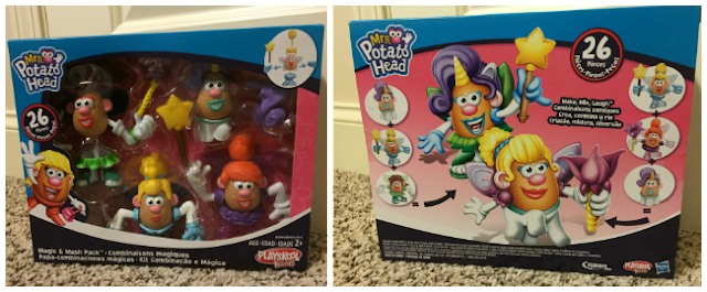 MR. POTATO HEAD AND MRS. POTATO HEAD MASH PACK