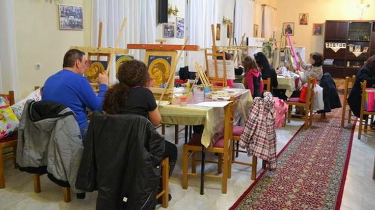 Εγγραφές στη Σχολή Αγιογραφίας «Η Αγία Γλυκερία» της Μητρόπολης Αλεξανδρούπολης