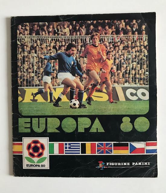 Album figurine Panini Europa '80
