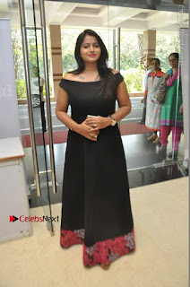 Telugu Actress Swathi Reddy Latest Stills in Black Gown  0083.JPG