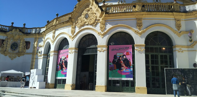 Entrada de Sevillaficción 2018 en el Casino de la Expo del 29