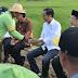 Presiden Tinjau Pelaksanaan Padat Karya Tunai di Sumbawa