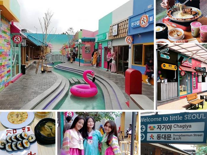 Hasil gambar untuk 3. Little Seoul di Bandung