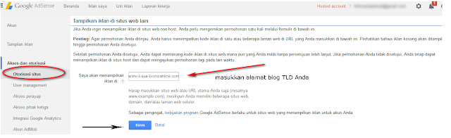 Cara Upgrate Akun Adsense Housted Ke Non Housted