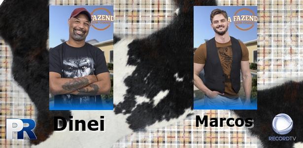 A Fazenda - Dinei ou Marcos Harter: Quem deve continuar no jogo? Vote!