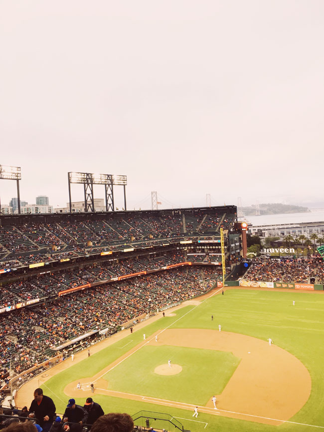 free things to do in San Francisco giants game