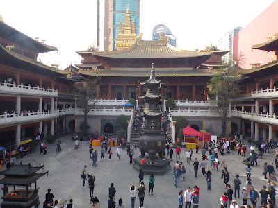 templo Jing´an shanghai
