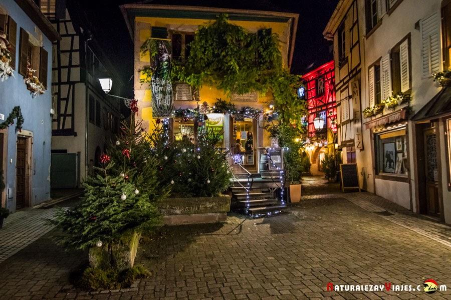 Mercado de Navidad de Ribeauville, Alsacia