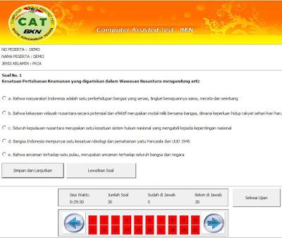 Aplikasi Offline Latihan Simulasi 2 CAT CPNS, https://bloggoeroe.blogspot.com/