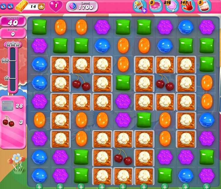 Candy Crush Saga 1700