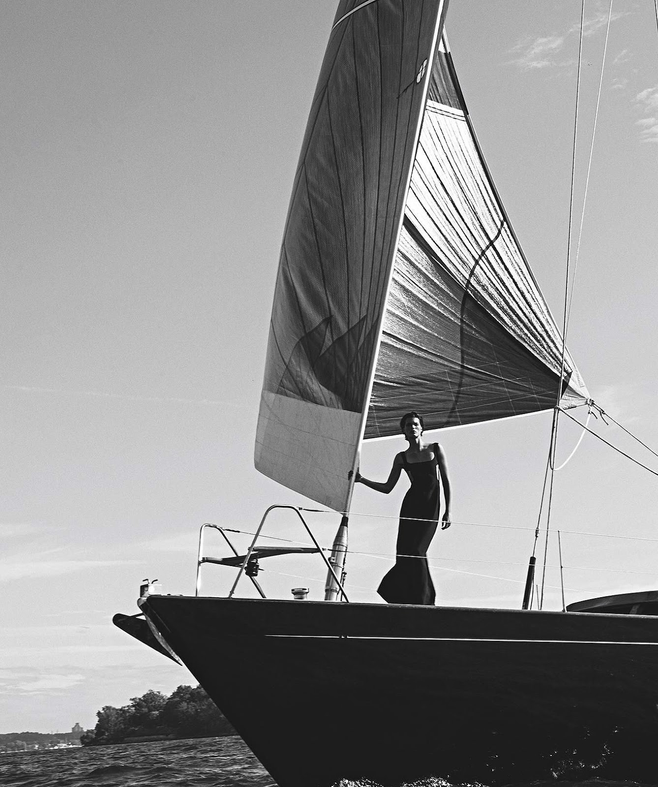 Julia van Os by Sebastian Kim for Vogue Australia December