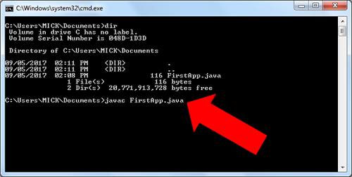 Java 191 How To Compile And Execute A Java Program Using