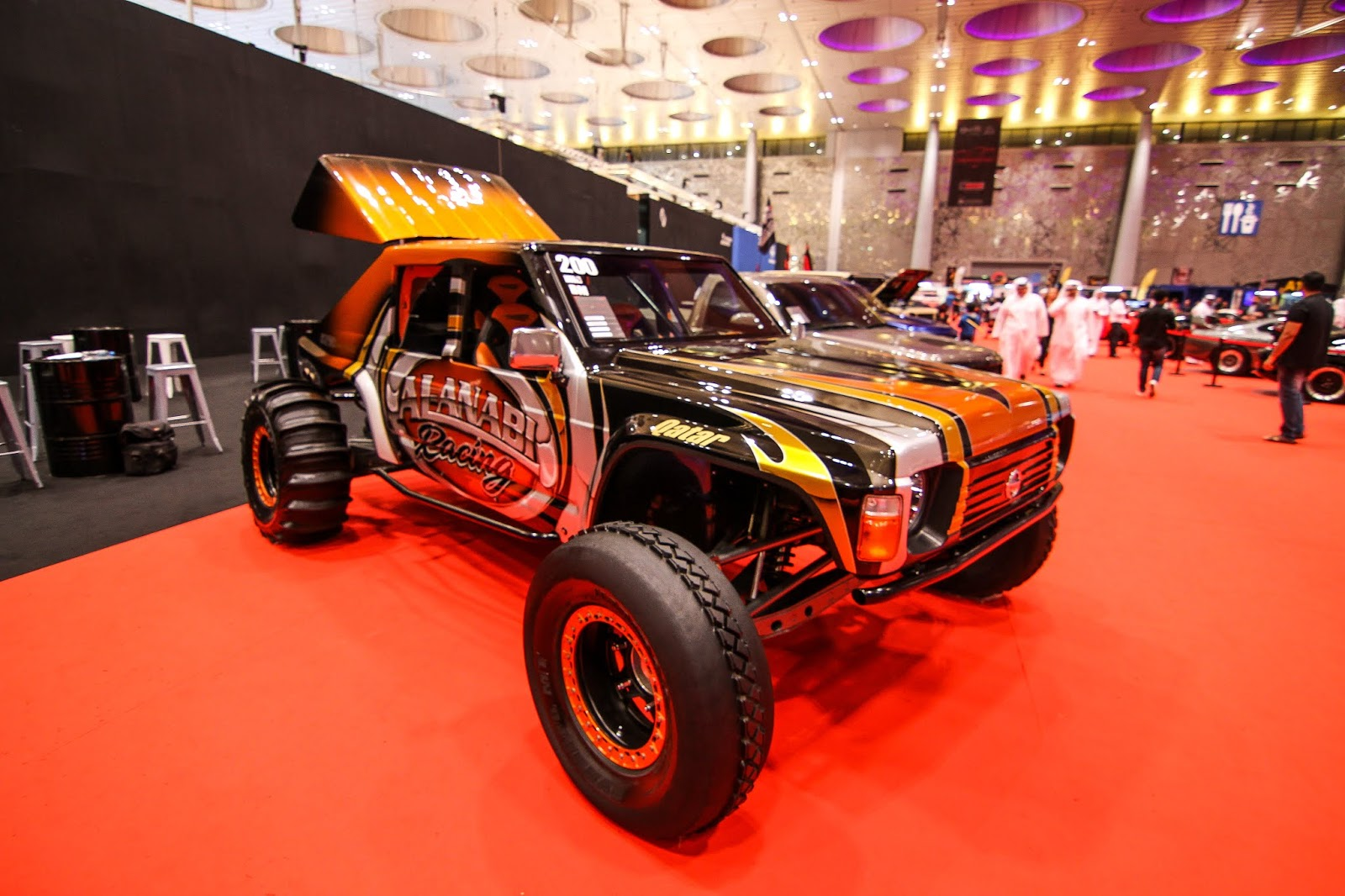 medium resolution of baja nissan patrol by joe fab at qatar motor show