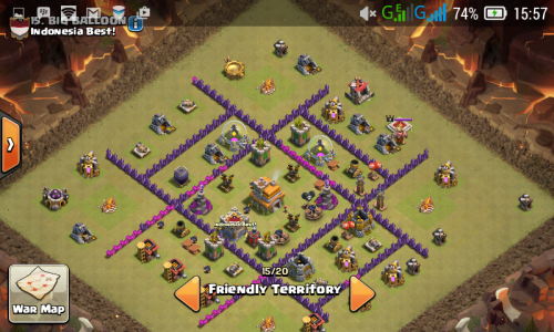 base war th 7 terkuat 2017