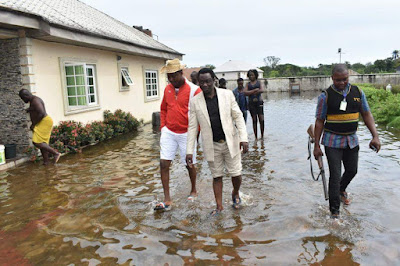 Flood Denies Delta State Deputy Speaker Osanebi's People Their Homes!