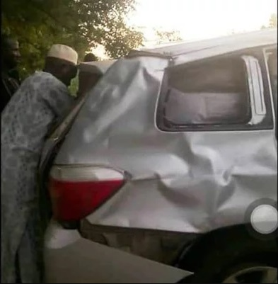 R-APC Chairman Galadima Escape Death In Ghastly Accident