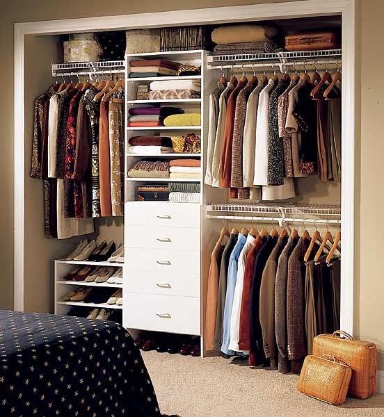 meu mini ap closet para apartamentos pequenos