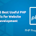 List of 5 Best Useful PHP Tools for Website Development