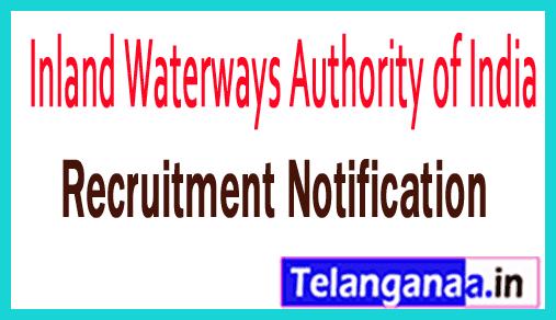 Inland Waterways Authority of India IWAI Recruitment Notification