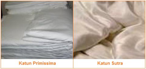 Bahan Produksi Batik - Kain putih - Katun Primissima dan Katun Sutra
