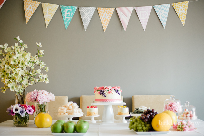 Alexandra 39 s 100th day celebration brooklyn family for Alexandra decoration