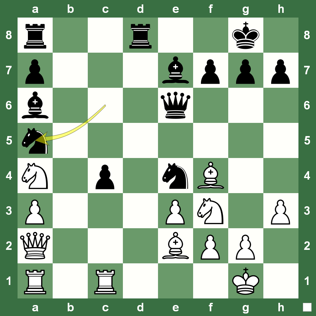 Special Chess Game: When 'a' File was Full ~ Chess Magazine
