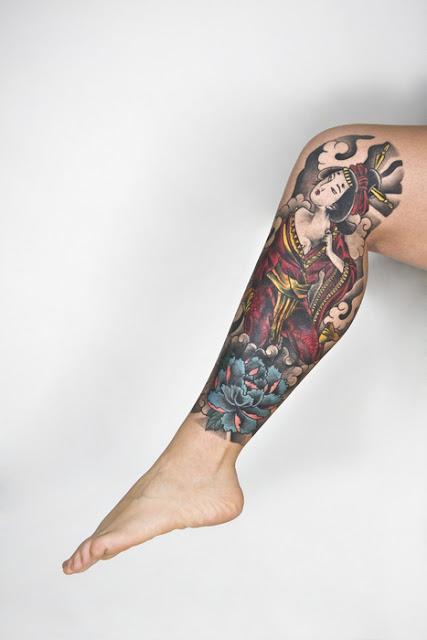 Sexy Feminine Leg Tattoos