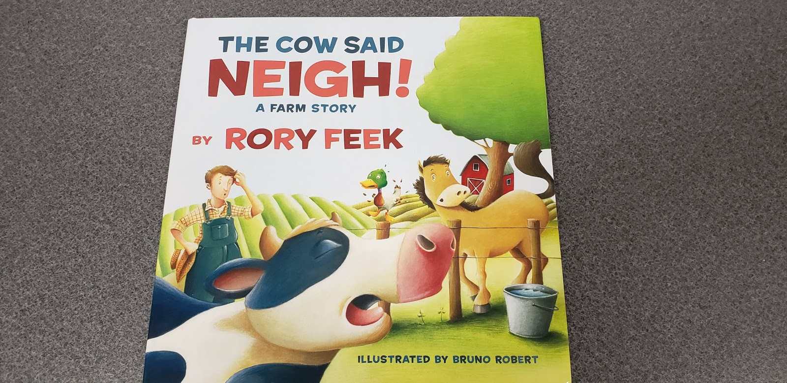 The Cow Said Neigh!: A Farm Story - Children's Book Review